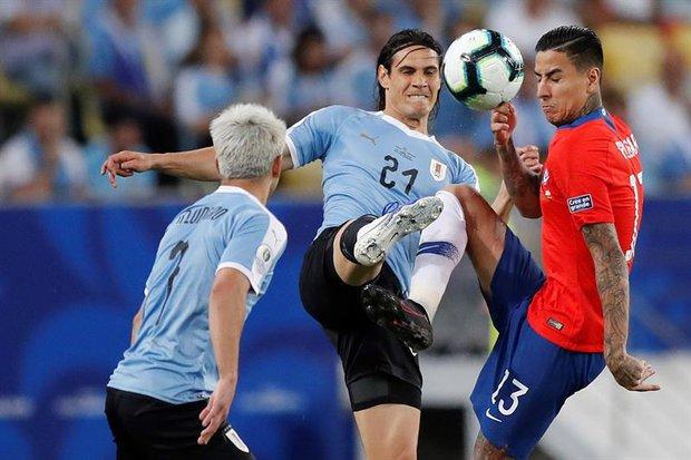 Uruguay debutará ante Chile. Foto: EFE l Antonio Lacerda