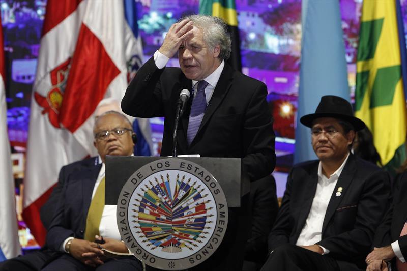 Delegación uruguaya se retiró de la asamblea de la OEA