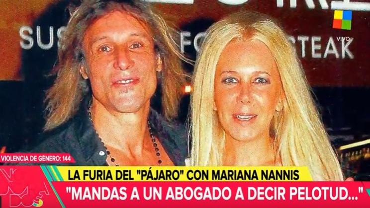 Mariana Nannis contra Caniggia: