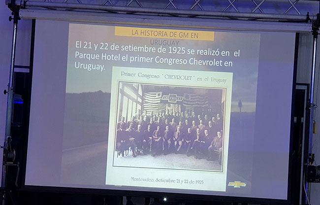 GM Uruguay histórico