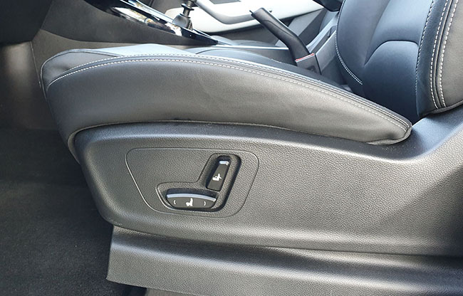 Chevrolet New Captiva asiento