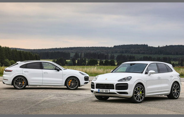 Porsche Cayenne Turbo S E-Hybrid y Cayenne Turbo S E-Hybrid Coupé