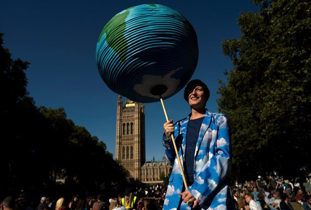 Protestas en Londres. Foto: Will Oliver/EFE