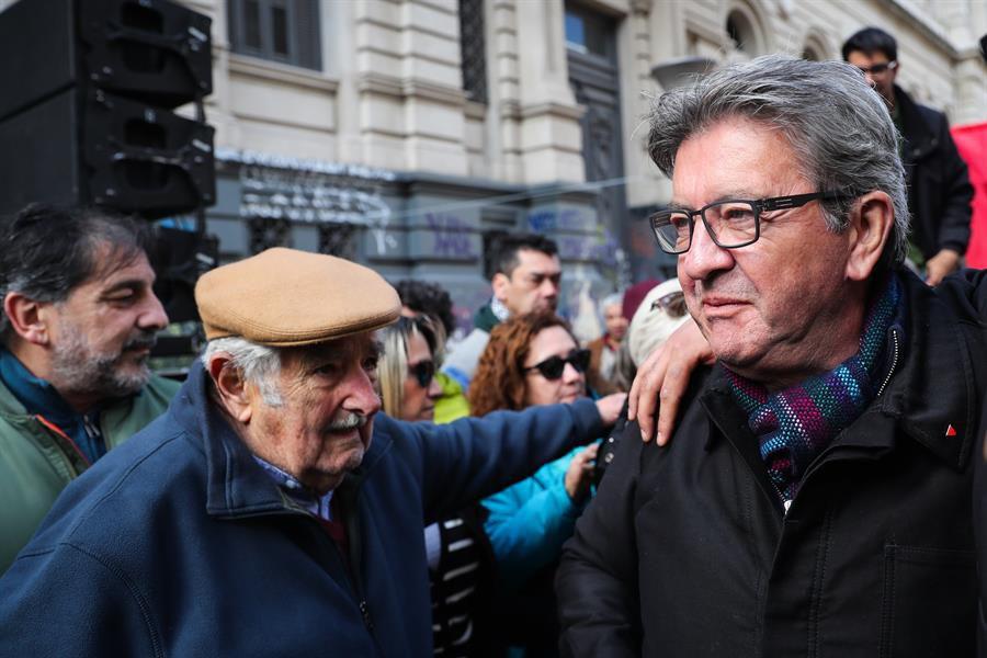 """Jean-Luc Mélenchon: Mujica le """"dio mucho"""" a la política mundial"""