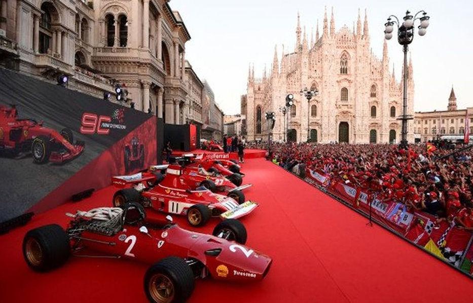 Plaza roja a la italiana