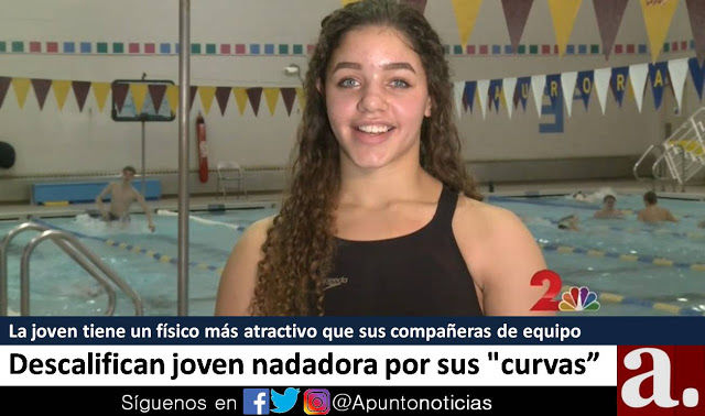 Nadadora sancionada en EEUU porque su malla no cubría su trasero adecuadamente