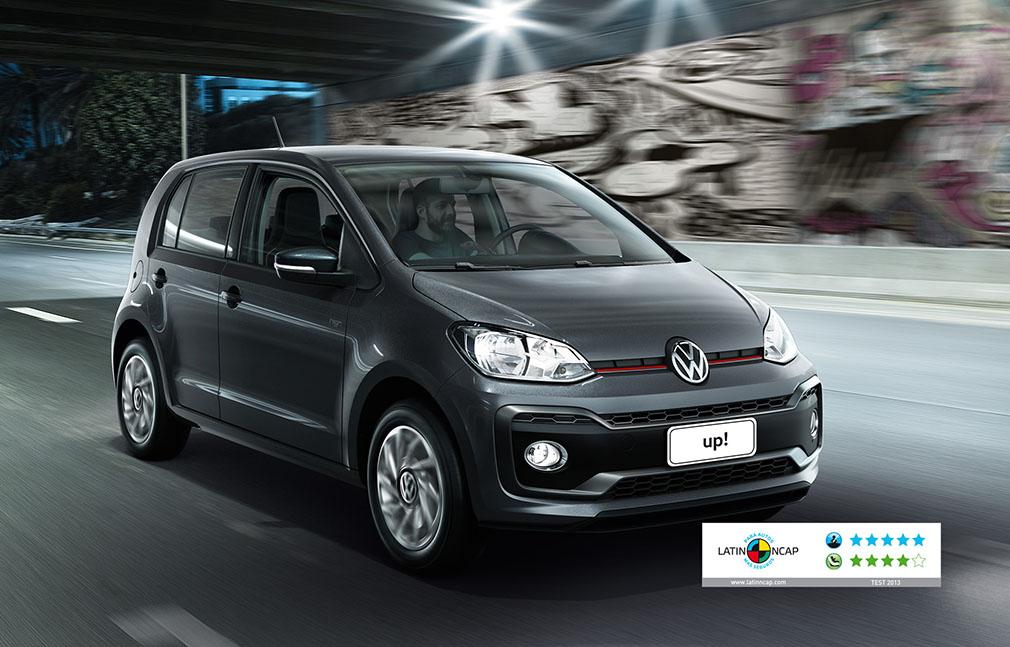 VW up! nota seguridad