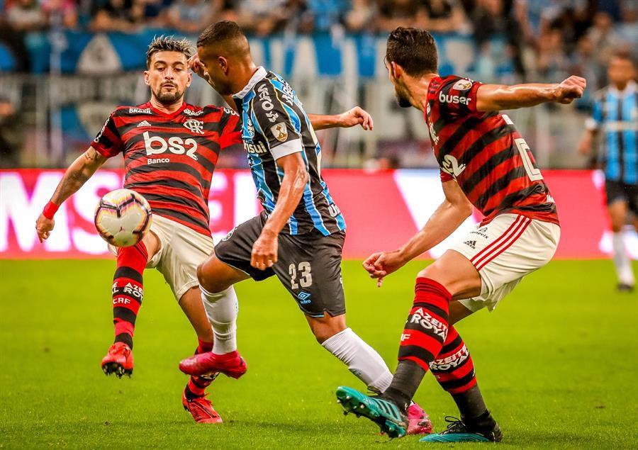 Libertadores Gremio Y Flamengo Empataron 1 1 De Arrascaeta Aporto Una Asistencia