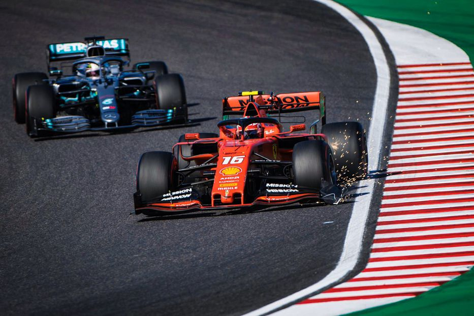 Sigue en Ferrari