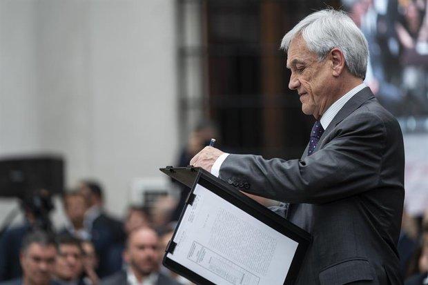Foto: EFE - Presidencia de Chile