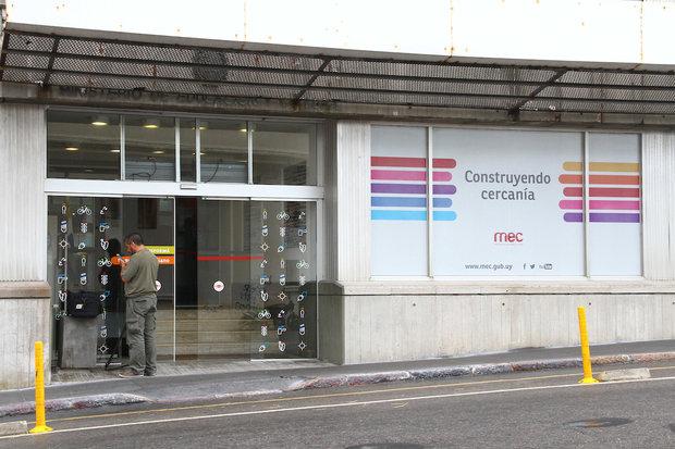 Ministerio de Educación y Cultura. Foto: FocoUy - Gastón Britos