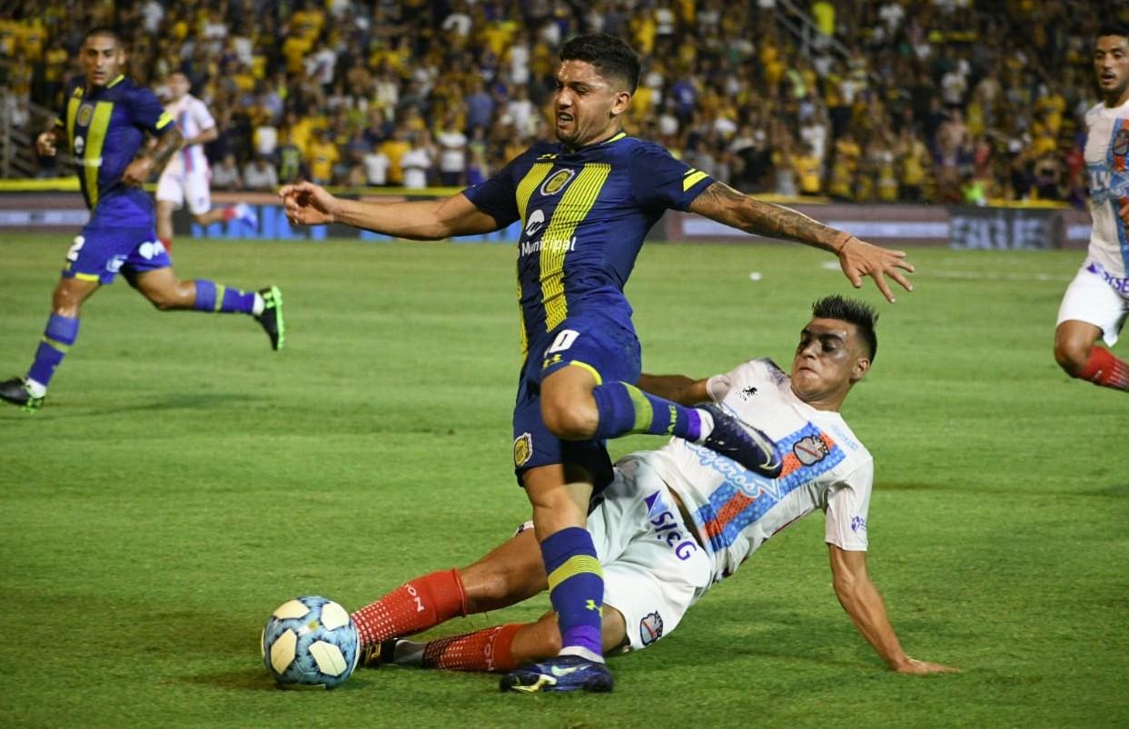 Argentina: Buen debut de Federico Martínez en el 3-1 de Rosario Central.  Hubo más