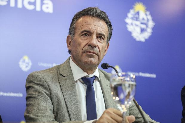 Ministro de Salud Pública, Daniel Salinas. Foto: FocoUy - Gastón Britos