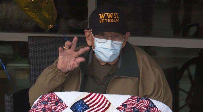 Estados Unidos: veterano de guerra de 104 años se recuperó del coronavirus
