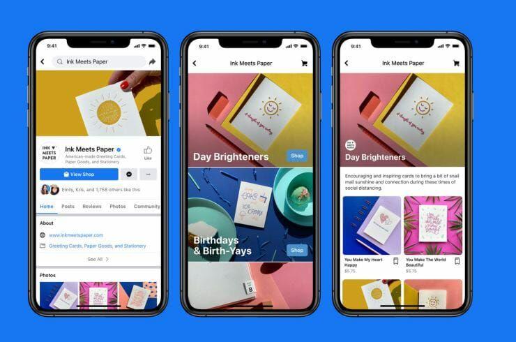Busca ayudar a las pymes a vender en línea — Facebook presenta Shops