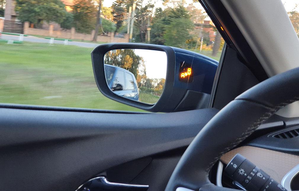 Sensor de punto ciego Chevrolet