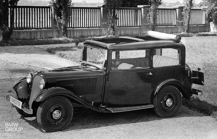 El BMW 303 de 1933, fue el primero en usar un motor 6 ...