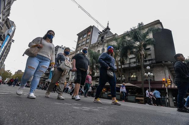 18 de julio peatonal. Foto: Martín Martínez / FocoUy (archivo)