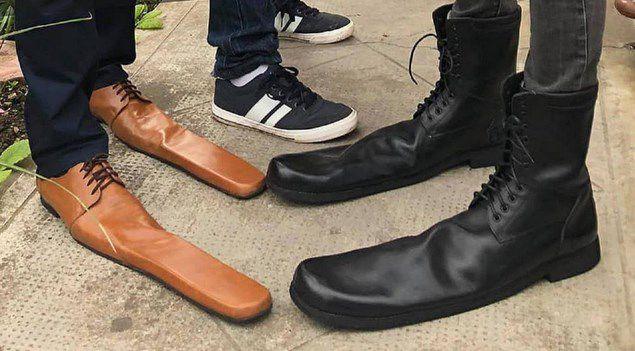 Crean zapatos de distanciamiento social para evitar el coronavirus