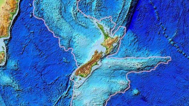 Publican nuevos mapas del 'séptimo continente' hundido en el océano (FOTOS)