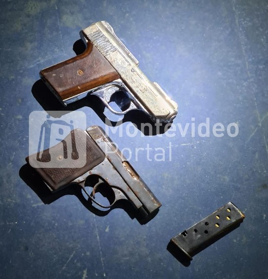 736504 - Incautaron armas en la requisa realizada en el exComcar