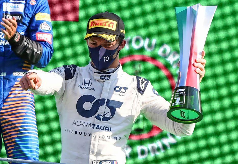 F1: El francés Gasly ganó el GP de Monza: Hamilton penalizado y Ferrari  abandonó carrera