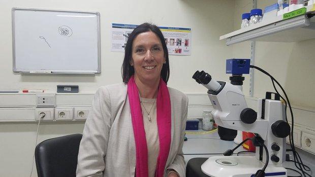 Doctora Martina Crispo, del Instituto Pasteur. Foto cedida a Montevideo Portal