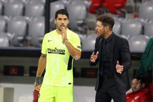 """Atlético de Madrid: """"Luis Suárez demuestra que está muy vigente"""", dijo Diego Simeone"""