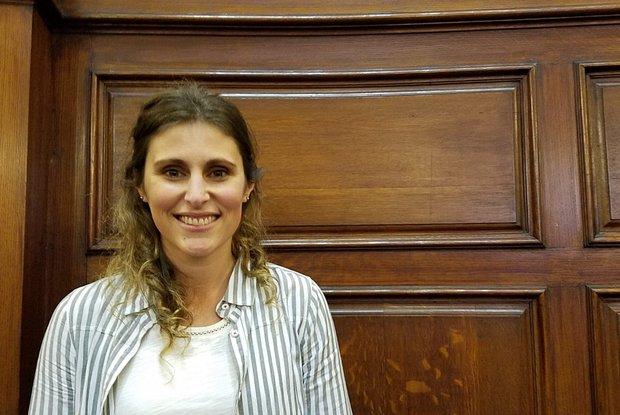 Lucía Spangenberg, investigadora del Institut Pasteur. Foto cedida por el IP