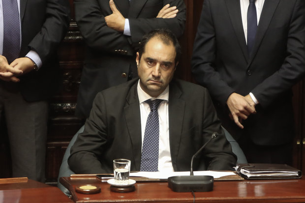 Amin Niffouri, senador por el Partido Nacional. Foto: Gastón Britos/FocoUy