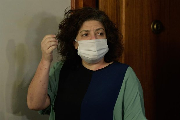 Carla Vizzotti, nueva ministra de Salud argentina. Foto: EFE/Juan Mabromata