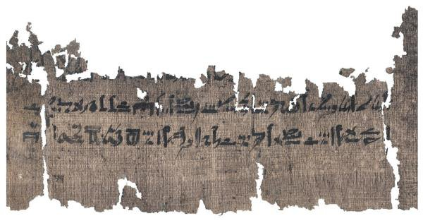 EFE/The Papyrus Carlsberg Collection, University of Copenhagen