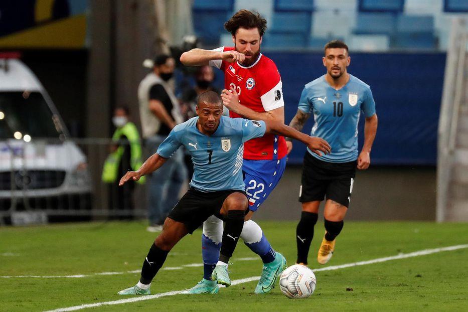 Copa América: Nicolás De La Cruz está en duda para el duelo ante Colombia del sábado