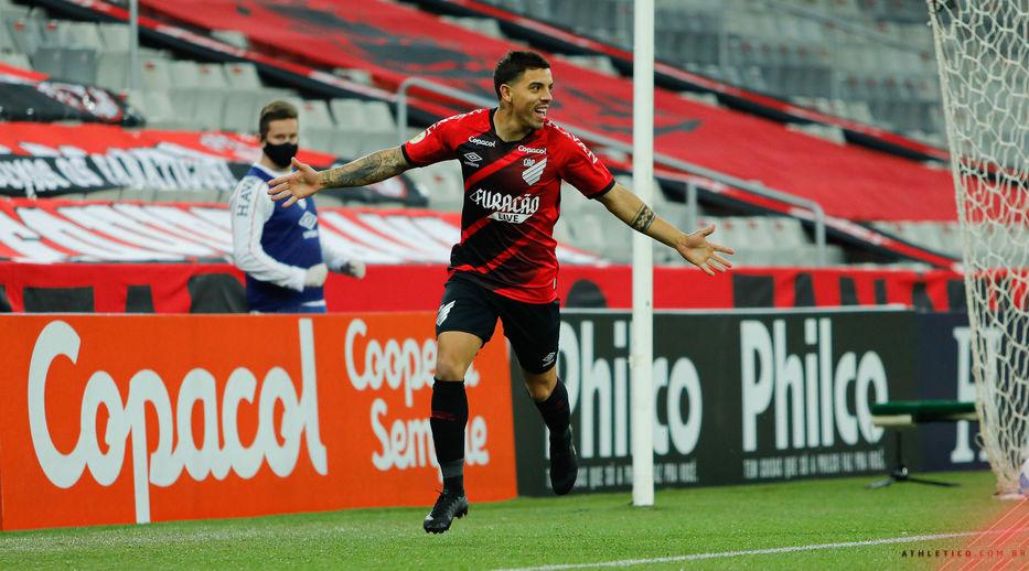 Brasil: Con un gol de David Terans, Athletico Paranaense ganó y es líder  del Brasileirao